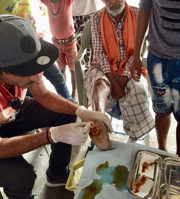 L'association Hope and Care en mission en Inde